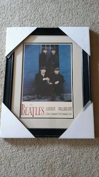 Beatles promotional picture framed Maple Grove