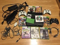 Xbox 360 - 250gb - 7 Games, Kinect, 3 controllers, more +++ !