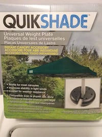 Quick shade Weight  plates (set of 4 ) Vaughan, L4L 9N3