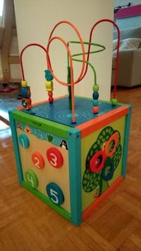 Wooden activity cube for kids Toronto, M9A 4M6