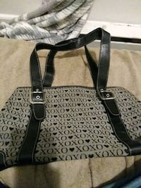women's black and gray leather tote bag Hagerstown, 21740