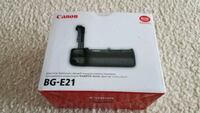 Brand new BG-E21 battery grip for canon camera Reston