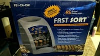 Automatic coin sorter Fast sort  Vancouver