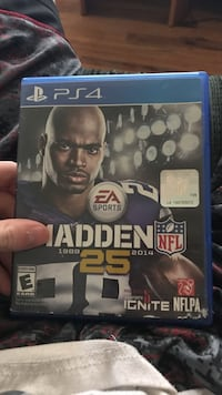 Sony PS4 Madden 25 game case Price, 84501