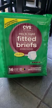 CVS pharmacy  day& night adult  Fitted briefs Woodbridge, 06525