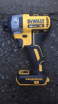 Dewalt 3 speed brushless impact drill w 3ah battery