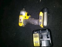 yellow and black DeWalt cordless power drill Midland, 79703