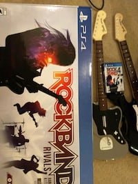 (PS4) Rockband 4 game and band kit Stafford, 22554