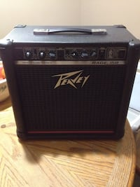 Black Peavey Rage 158 transtube series guitar amplifier Calgary, T2H