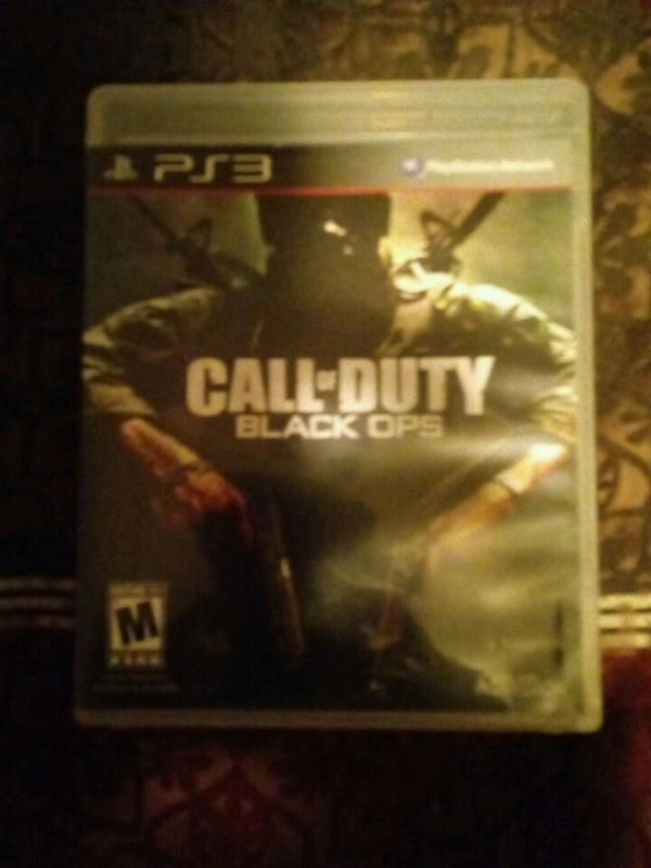 Used Call Of Duty Black Ops Xbox 360 Game Case For Sale In