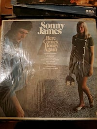 Sonny James - Here Comes Honey Again Vinyl Record LP