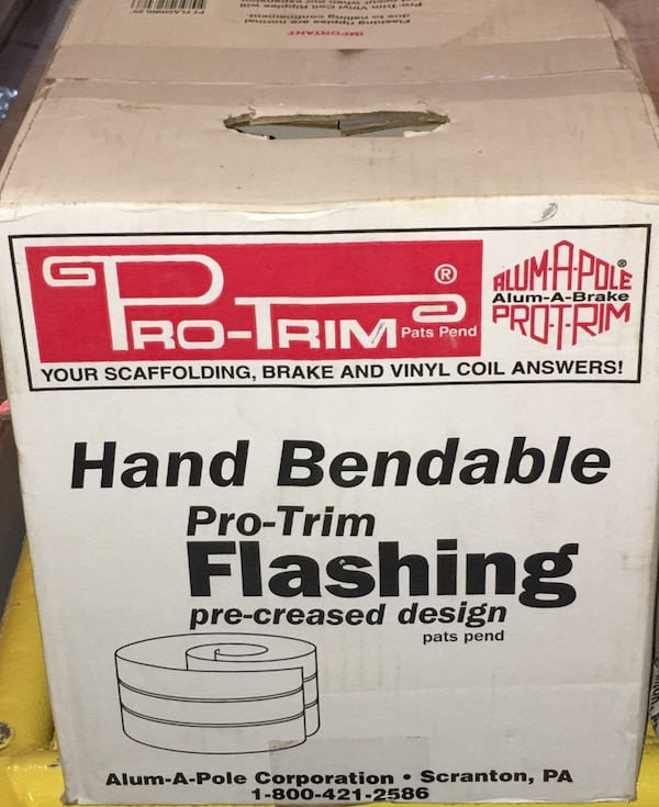 Gpro trim hand bendable pro trim flashing 35 00 each