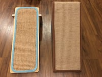 Cat scratching posts (like new!) Raleigh, 27612