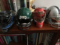 Assorted toy helmets.  $10 for all 4
