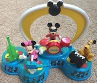 Blue and yellow Mickey Mouse band toy set Ellicott City, 21042