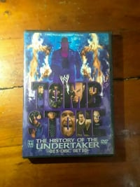 Tomb Stone The History of the Undertaker 3-disc se