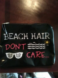 Beach Hair Dont care printed pouch Nashville, 37208