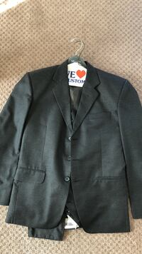 Men's suit with blazer pants and vest in charcoal Surrey, V3X 0B3