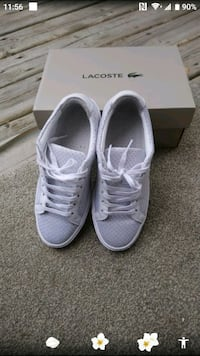 Lacoste white shoes Calgary, T3J 2T2