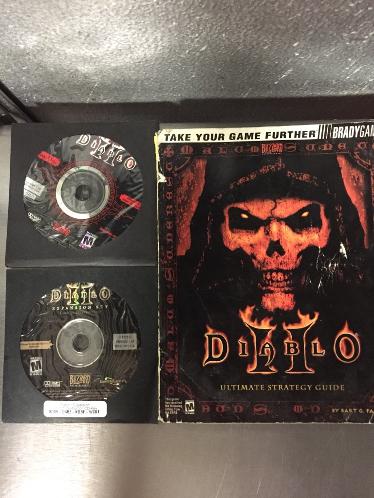 used diablo 2 lord of destruction includes lod expansion disc and rh us letgo com diablo 2 strategy guide pdf diablo 2 lod strategy guide