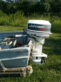 white and black outboard motor Knoxville, 37909