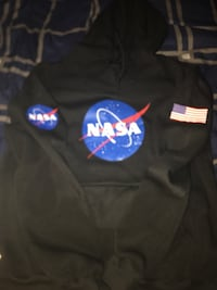 NASA hoodie size L black Washington, 20011