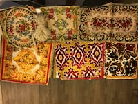 Vintage velvet pillow covers and curtains bundle New York, 10001