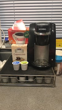 Keurig machine with coffee pods included Watertown, 02472