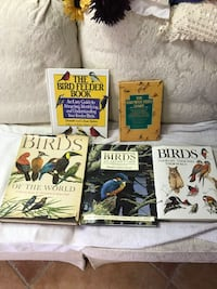Five (5) Books on Birds