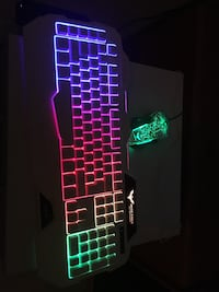 Gaming Mouse and Keyboard Glow in the Dark Whitby, L1R 1V8