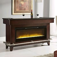 Evo Home bar with fireplace and sound system Long Beach, 90815