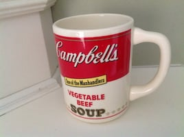 Vintage Campbell Soup Cup