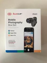 OLLOCLIP Mobile Photography Box Set for Iphone X,  Toronto
