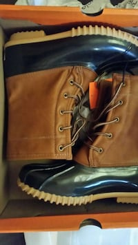 pair of brown leather boots Bethune, 29009