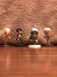 four assorted anime bubble head characters Wasilla, 99654