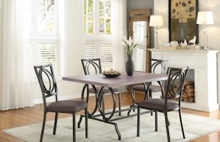 BEAUTIFUL DINETTE SET FIRE