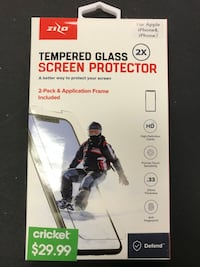 ZIZO IPhone 8/7 tempered Glass Manchester, 03104