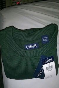 green chaps sweater Sanford, 27330