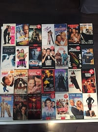 VHS movie lot for $10 Mississauga, L4W 2X2