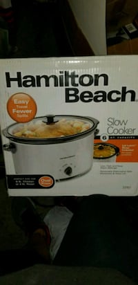 Hamilton Beach NIB slow cooker Fountain Valley, 92708