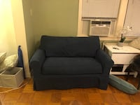 Sleeper sofa. Twin sized mattress within this loveseat. Smoke free home. Pickup only.