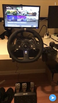 Racing wheel and triple screen monitors  San Jose, 95116