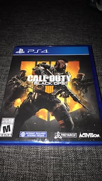 Sony PS4 Call of Duty Black Ops 4  Toronto, M4X 1G5