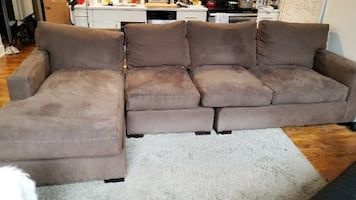 Crate&Barrel Sectional