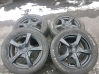 17 inch Touren rims with Toyo tires  Vaughan, L4H 2Y9