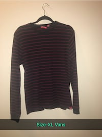 black and gray striped long-sleeved shirt Nampa, 83651