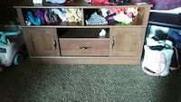 brown wooden cabinet Franklin, 42134