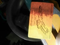 Gift card for golfers 3119 km