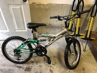21 speed Green and Silver kids Mountain Bike Tyngsborough, 01879