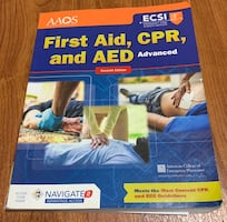 First Aid and CPR book